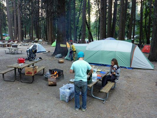 Camping im Yosemite