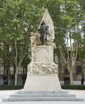 Monumento al Cabo Noval. Plaza de Oriente. Madrid