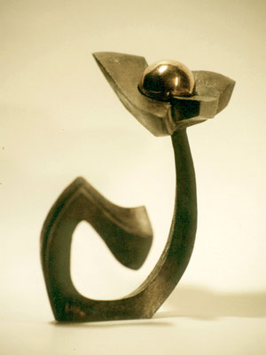 Sideral flower 1. Bronce