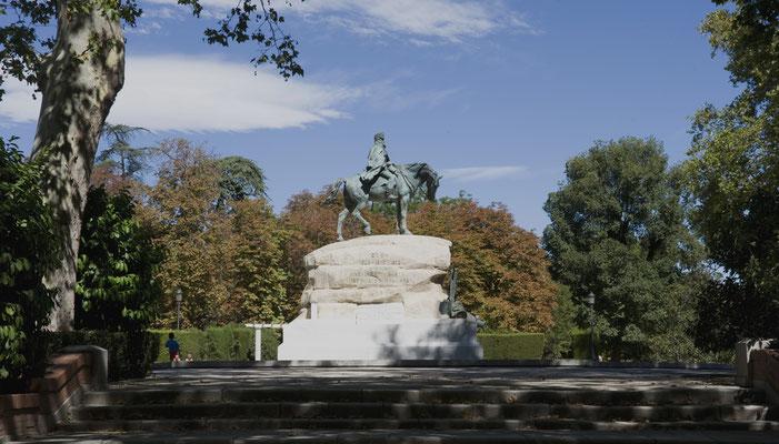 Monumento al General Martínez Campos. Parque del Retiro. Madrid
