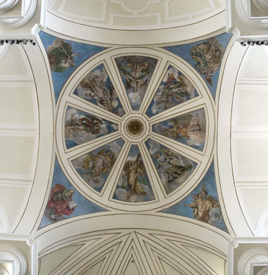 Iglesia de Getafe. Madrid. Cúpula.