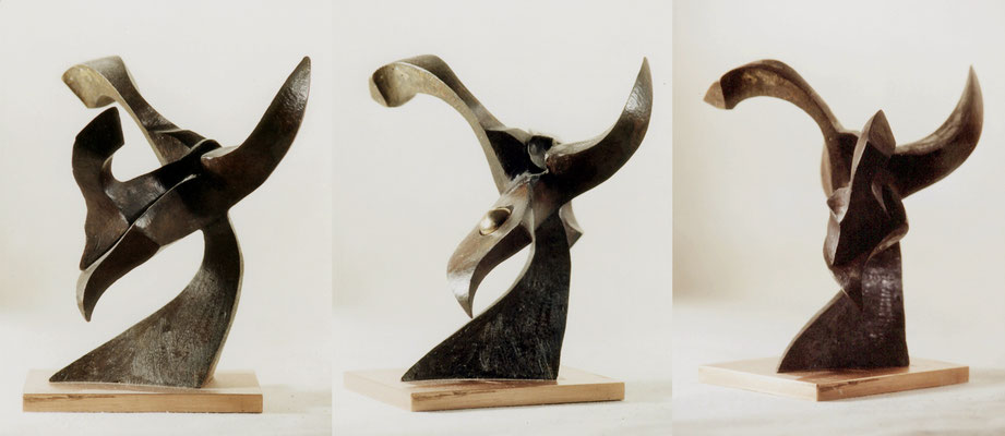 Sideral flower 3. Bronce