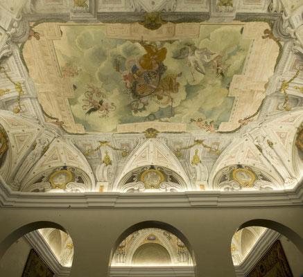 Techo Casa Panadería. Claudio Coello y Jiménez Donoso 1674
