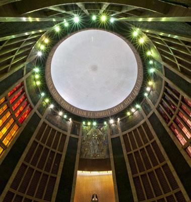 Iglesia de Santa Rita. Madrid. Cúpula.