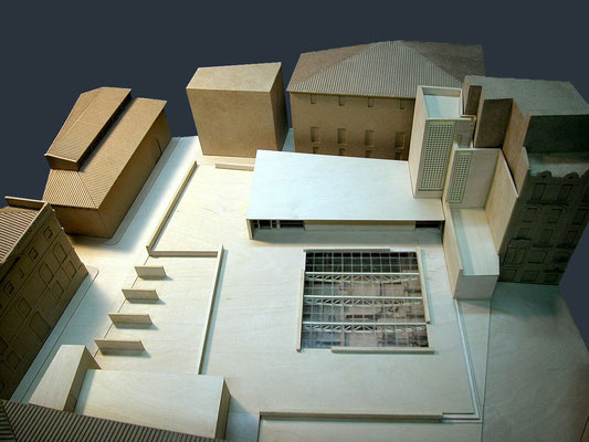 Proyecto de remodelación de la Plaza de La Almoina. Valencia.