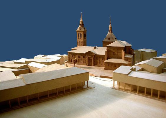 Entorno de la Iglesia de Ntra. Sra. de la Asunción. Navalcarnero, Madrid.