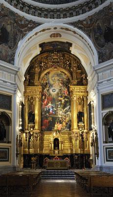 Retablo Mayor Iglesia de San Placido. Claudio Coello.