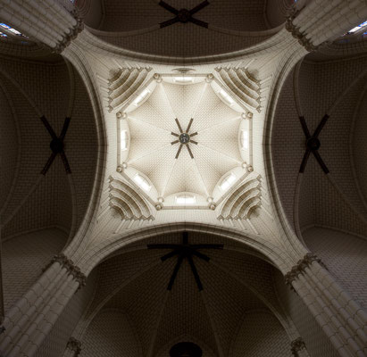 Iglesia de Santa Cruz. Madrid. Cúpula.
