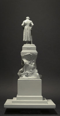 Monumento a Francisco de Goya.  Reproducción E: 1/20