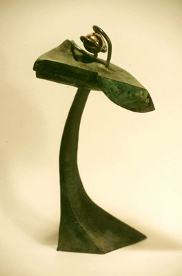 Sideral flower 2. Bronce