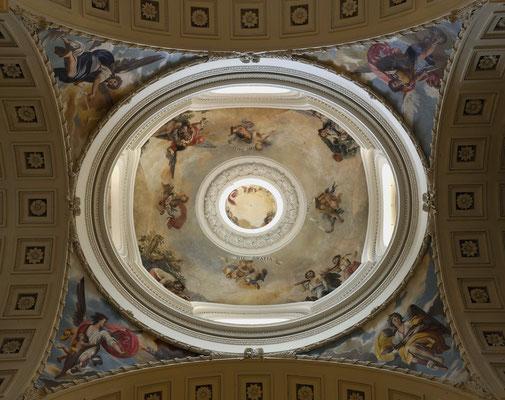 Oratorio de Caballero de Gracia. Madrid. Cúpula.