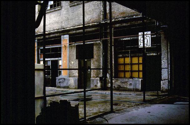 Antigua fabrica de cervezas El Águila. Madrid.