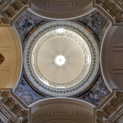 Iglesia de las Calatravas. Madrid. Cúpula.