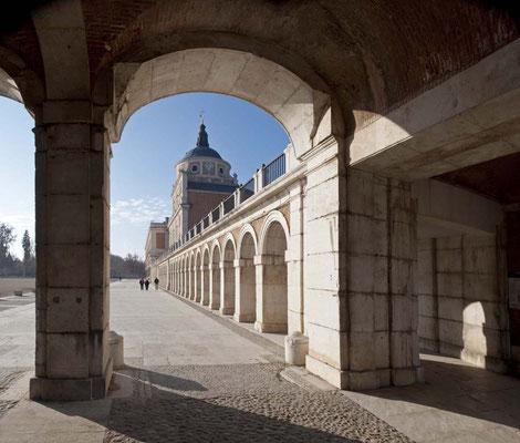 Soportales del Palacio Real Aranjuez 2.
