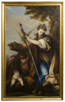 Santa Catalina de Alejandría. J.A. de Frías Escalante 1660