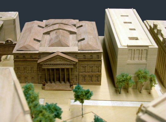 Remodelación de la Plaza de las Cortes. Plan Especial Prado Recoletos. Madrid.