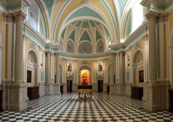 Convento de las Comendadoras de Santiago. Sala de los Caballeros.