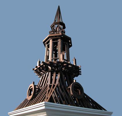 Estructura de Torre Iglesia de Ntra. Sra. de la Asunción. Navalcarnero, Madrid.
