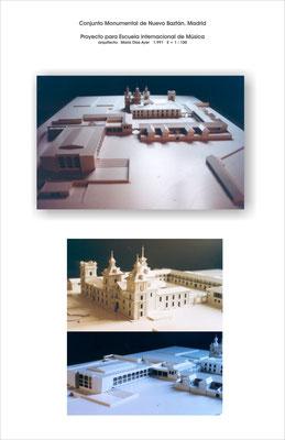 Proyecto para Escuela de Música. Conjunto monumental de Nuevo Baztan