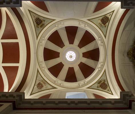 Ermita de Rivas. Madrid. Cúpula.
