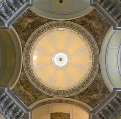Iglesia de las Mercedarias. Madrid. Cúpula.