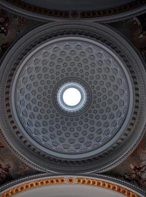 Iglesia de Brea de Tajo. Madrid. Cúpula.