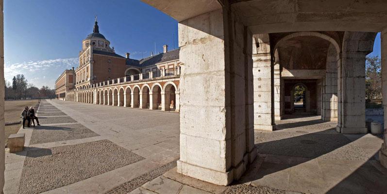 Soportales del Palacio Real Aranjuez 1.