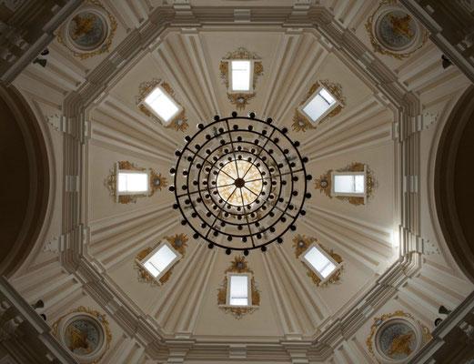 Ermita de Virgen del Puerto. Madrid. Cúpula.
