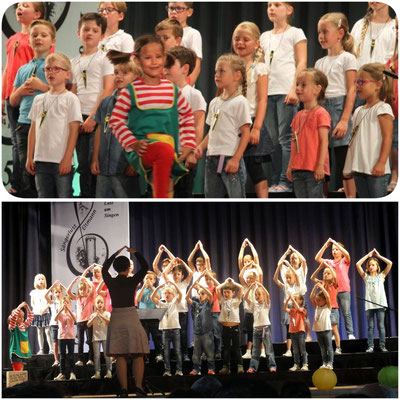 "Kinderchor ""Wallburgspatzen"""