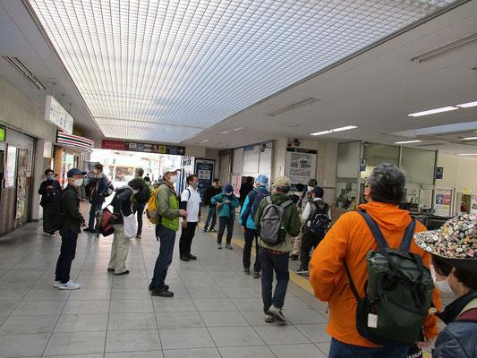 「百合ヶ丘駅」改札前で解散  (15:30)   ご参加の皆様、お疲れ様でした。次回のシリーズ❷もお楽しみに。
