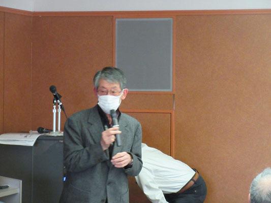 須知事務局長による開会の挨拶