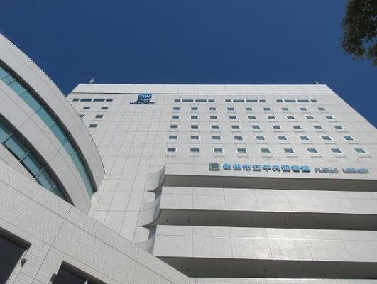 会場 ベストウェスタン レンブラントホテル東京町田  町田市立中央図書館も併設しています