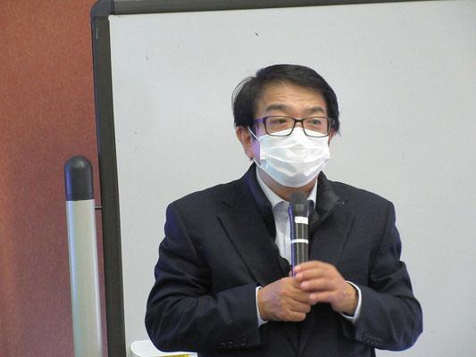 講師の千葉達郎さん
