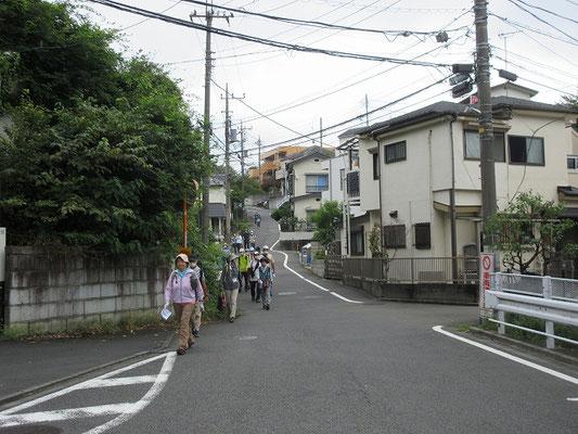 大坂 (最も重要な坂)  古代東海道・鎌倉街道早ノ道・尾根古道が逢う坂。
