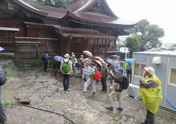 瀬戸神社  中世都市鎌倉の外港として栄えていた武蔵国六浦庄(現金沢区全域)における中心的な神社・平潟湾と 瀬戸入海をつなぐ潮流の速い海峡を望む地点に、古代から海の神としてまつられたと推定されていますが、社伝では治承四年(1180)に源頼朝が伊豆三島明神(三島市三嶋大社)を勧請したのが起源と されています。