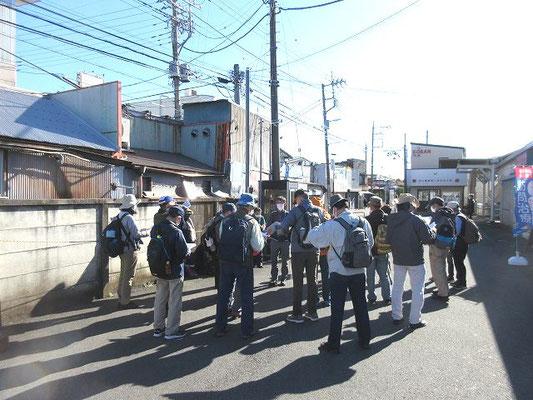 西武新宿線入曽駅東口改札前(10:00集合)