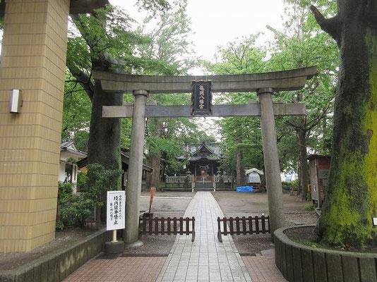 ・逗子 亀岡八幡宮  境内は、「高畠」という小字で、なだらかな岡で、亀の背中のようであったというところから、鎌倉の「鶴岡八幡宮」に対し「亀岡八幡宮」と名付けられた。  逗子駅周辺より一段高く水の被害を受けずに済んでいます。古墳だったかも・・・。