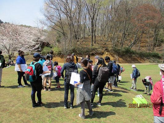 相原中央公園に到着  遊具広場で昼食 (11:45~12:35)