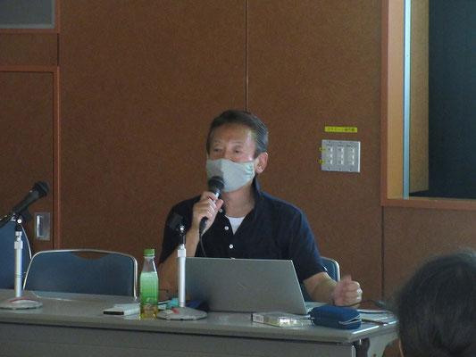 宮田団長によるミニ講演会