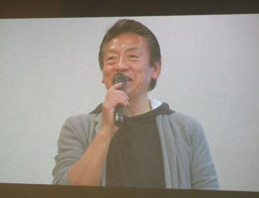 歴史古街道団・宮田団長(日本フットパス協会理事)