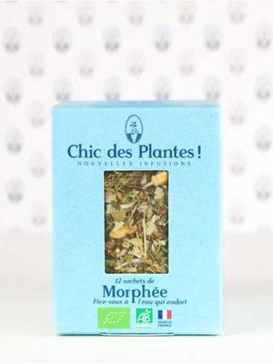 infusion bio Morphée, Chic des plantes !