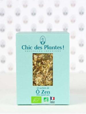 infusion bio o Zen, chic des plantes !