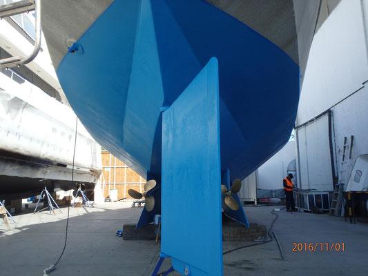 ...Super neues Unterwasserschiff in Ensenada Mex. 11 2016