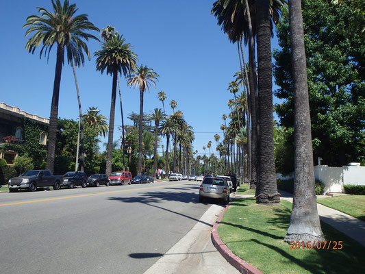 Seitenstrasse Beverly Hill