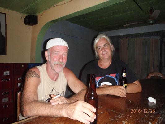 Golfo Dulce mit Günter der mich seit Ensenada Mexico begleitet