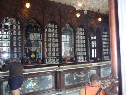 Kuba Havana City die älteste Apotheke in Kuba