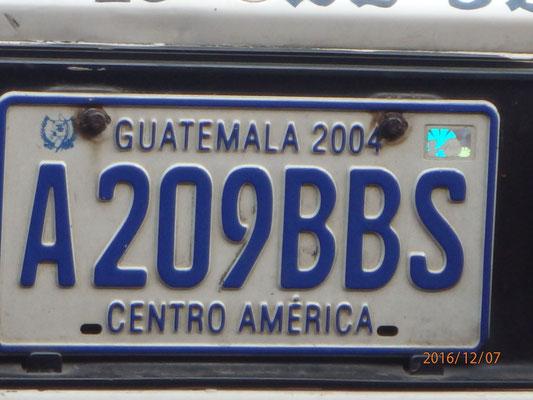 ...Landausflug nach Guatemala