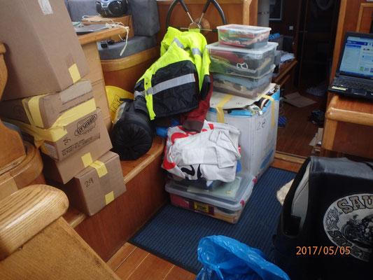 Ausräumen und Packen
