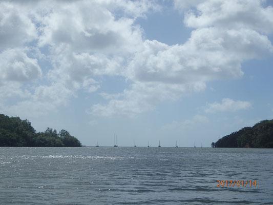 Ankerplatz Puerto Bello Panama