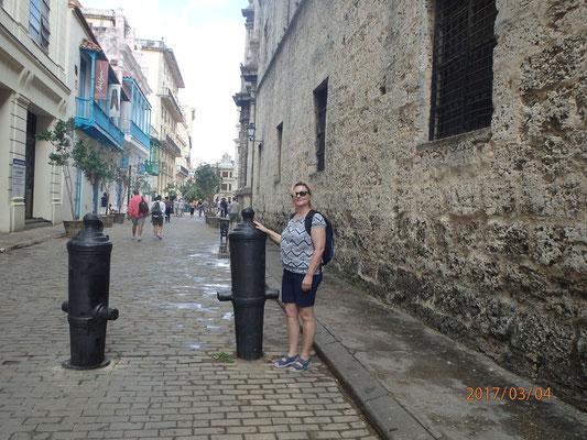 Kuba Havana City  Besuch aus der Heimat